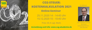 CO2-Steuer: Kostenkalkulation